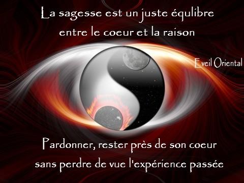 La sagesse est un juste équilibre...