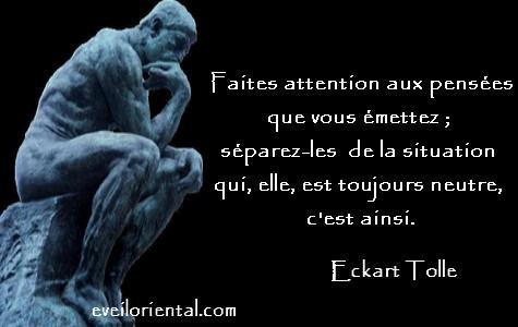 Faites attention à vos pensées