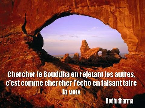 Chercher le Bouddha