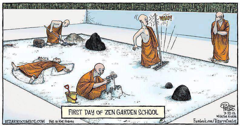 Histoire Zen _ Le Maître du Silence Zen