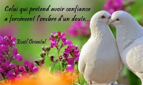 Confiance Et Doute Eveil Oriental Le Blog